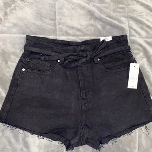 brand new tags in pacsun denim jean shorts